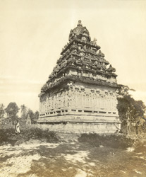 South-east view, Muktesvara Temple, Great Conjeeveram, Chingleput District